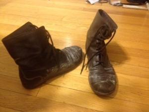 I need new boots.