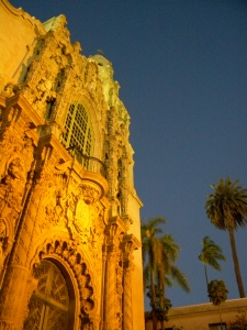 Pretty church in Balboa Park